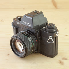 Canon F-1N AE Finder FN w/ 50mm f/1.4 Exc+
