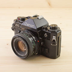 Canon A-1 w/ 50mm f/1.8 Exc - West Yorkshire Cameras