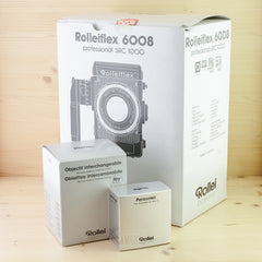 Rolleiflex 6008 w/ 80mm f/2.8 Exc+ Boxed