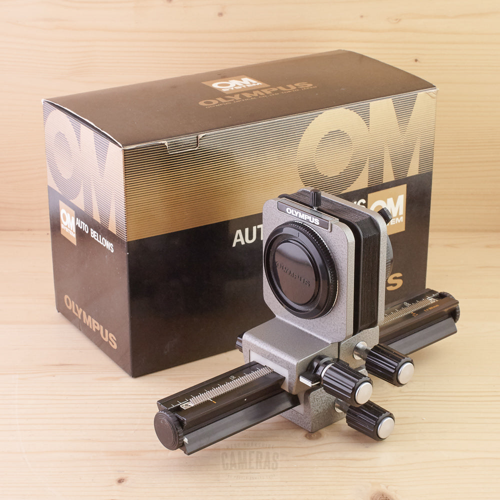 Olympus OM Auto Bellows Mint- Boxed