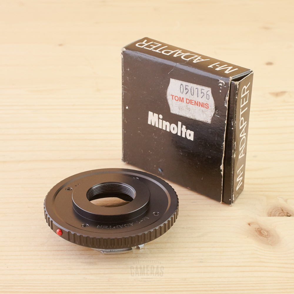 Minolta MD M-1 Adapter Exc+ Boxed