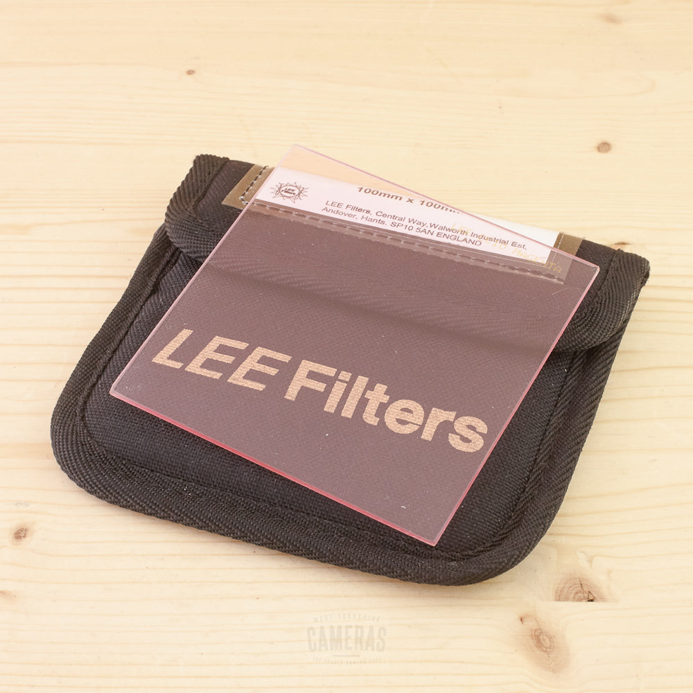 Lee 100x100mm CC10 Magenta Resin Filter Exc+ in Case