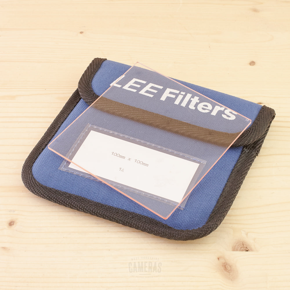 Lee 100x100mm 1A Resin Filter Exc+ in Case