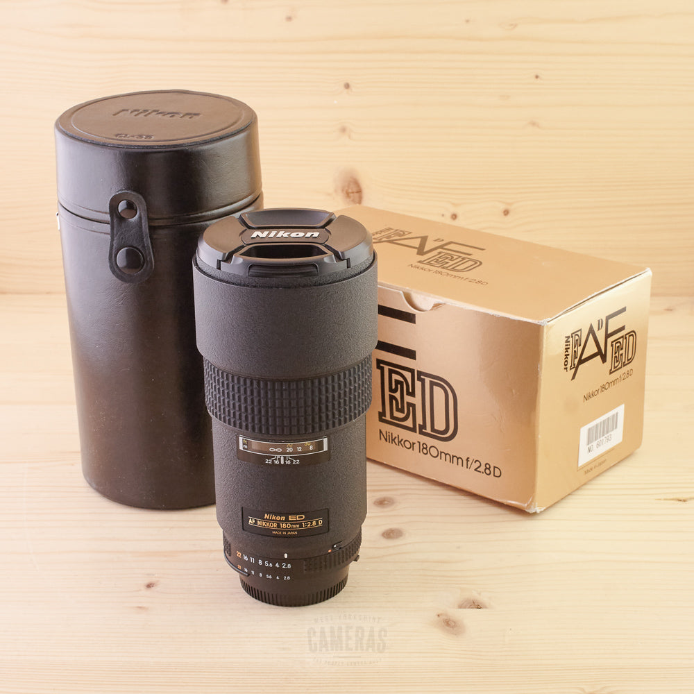 Nikon AF 180mm f/2.8 D ED Mint- Boxed