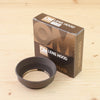 Olympus Rubber Lens Hood for 50mm f/1.2 Mint- Boxed