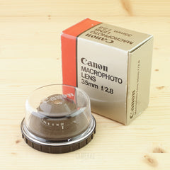 Canon 35mm f/2.8 Macrophoto Mint- Boxed