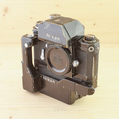 Nikon F Photomic Black w/ F-36 Motor Drive Avg