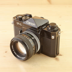 Canon F-1 w/ 50mm f/1.4 S.S.C Avg