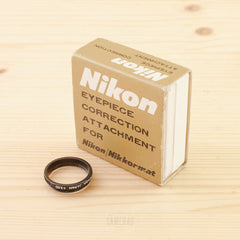 Nikon +3.0 Eyepiece Correction Attachment For Nikon/ Nikkormat Exc+
