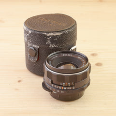 Pentax M42 35mm f/3.5 and case Exc+