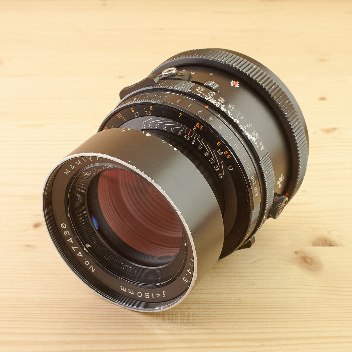 Mamiya RB67 180mm f/4.5 Ugly