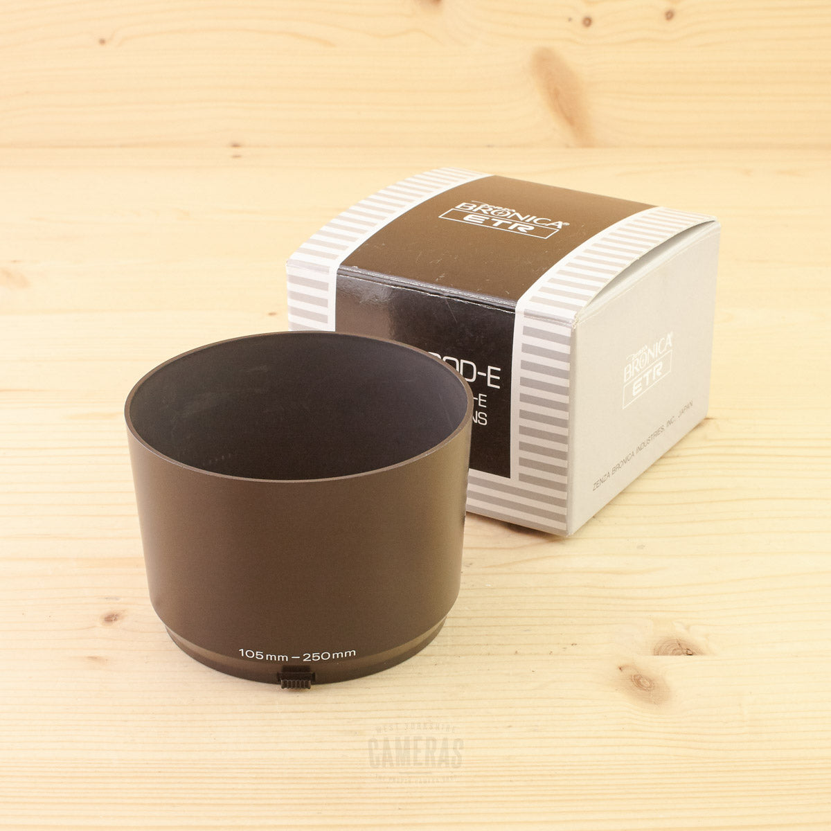 Bronica ETR Lens Hood E for 105/250mm Exc+ Boxed