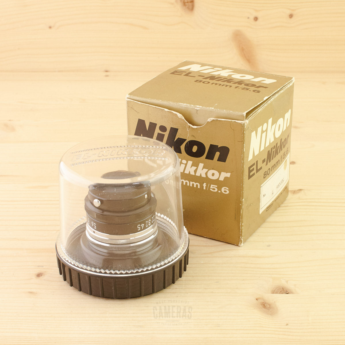 Nikon Enlarging 80mm f/5.6 Exc+ Boxed