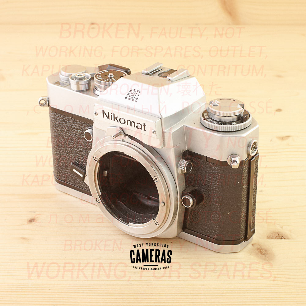 [OUTLET] Nikon Nikkormat EL Body Chrome