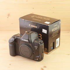 Canon EOS 3 Body Exc+ Boxed