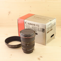 Canon FD 20-35mm f/3.5 L Exc+ Boxed
