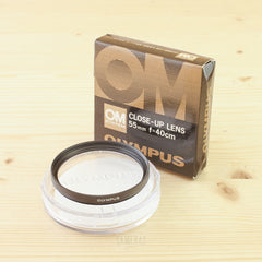 Olympus Close Up Filter f=40cm (55mm diameter) Boxed Exc