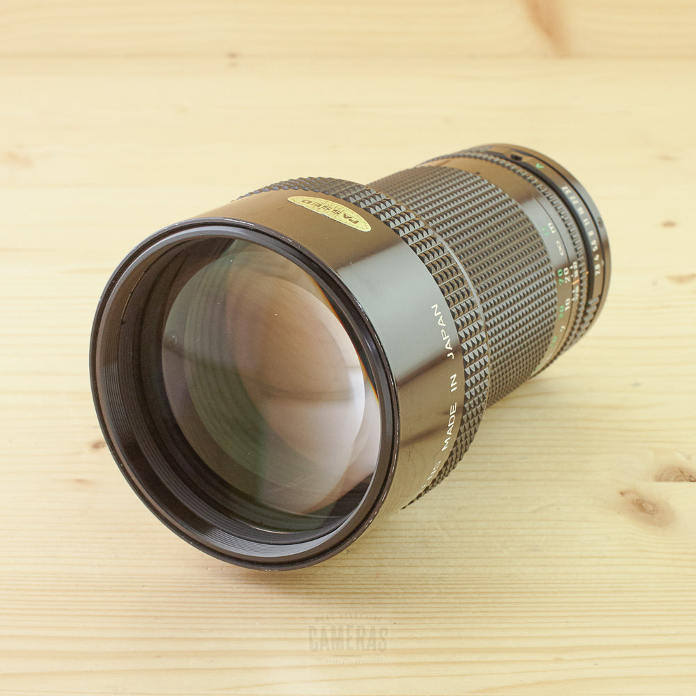 Canon FD 200mm f/2.8 Exc
