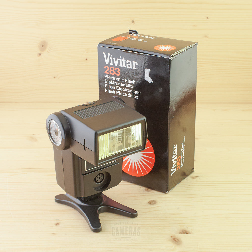 Vivitar 283 Flash Exc+ Boxed