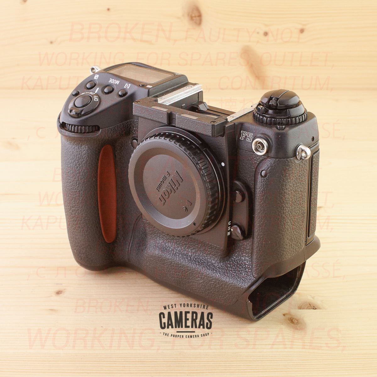 [OUTLET] Nikon F5 Body
