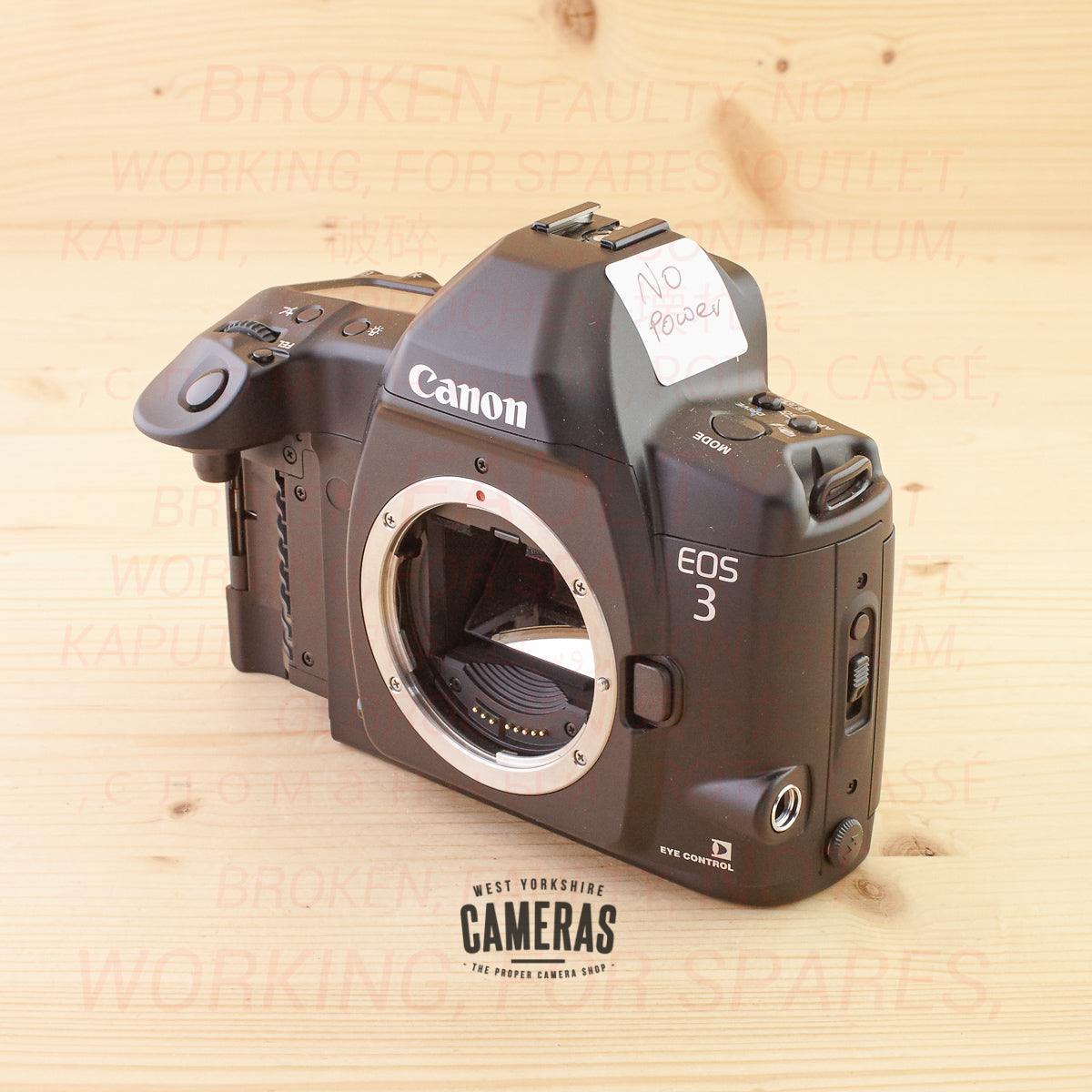 [OUTLET] Canon EOS 3 Body B