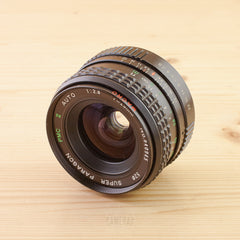 Pentax-M fit Paragon 28mm f/2.8 Exc