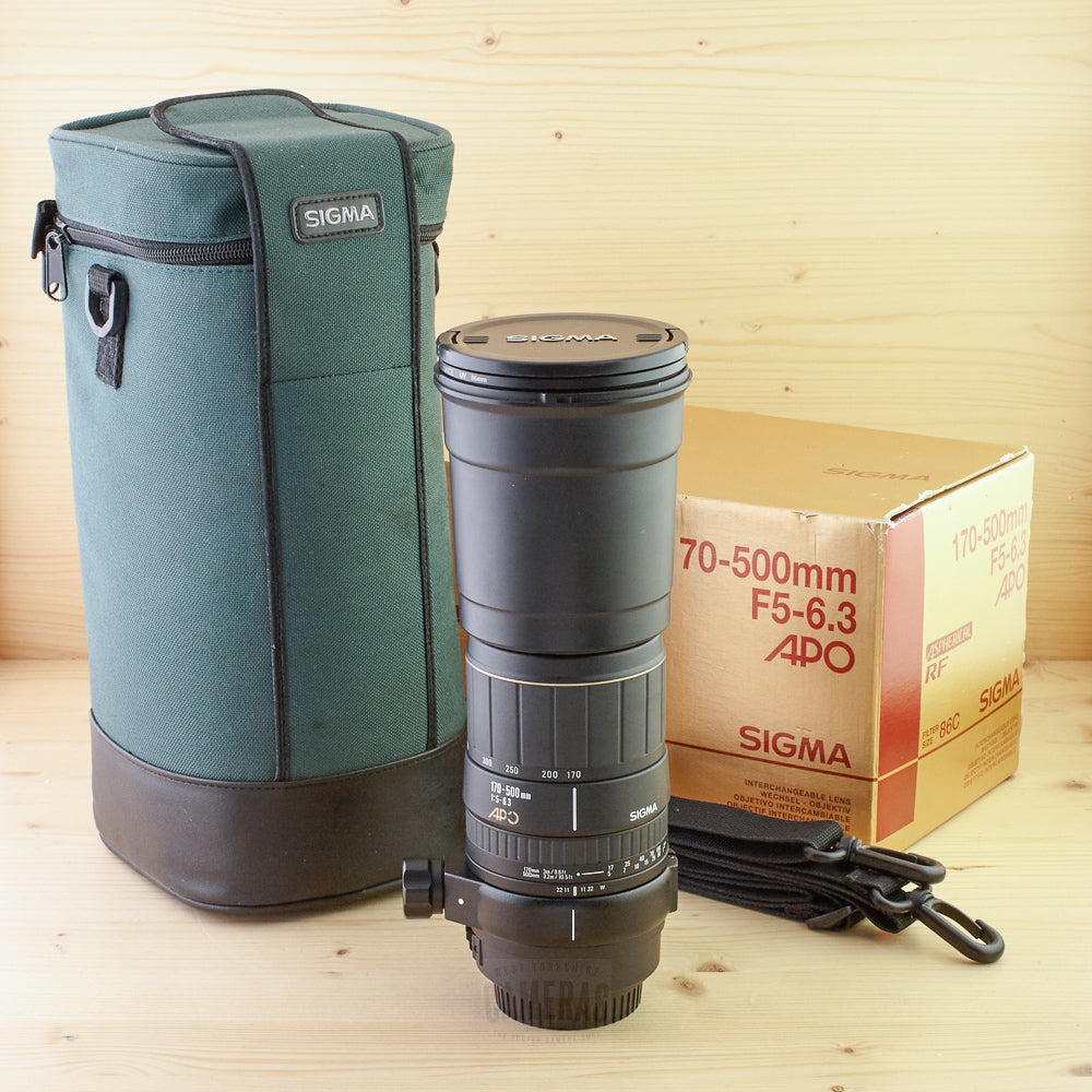 Canon EF Fit Sigma 170-500mm f/5-6.3 Exc+ Boxed