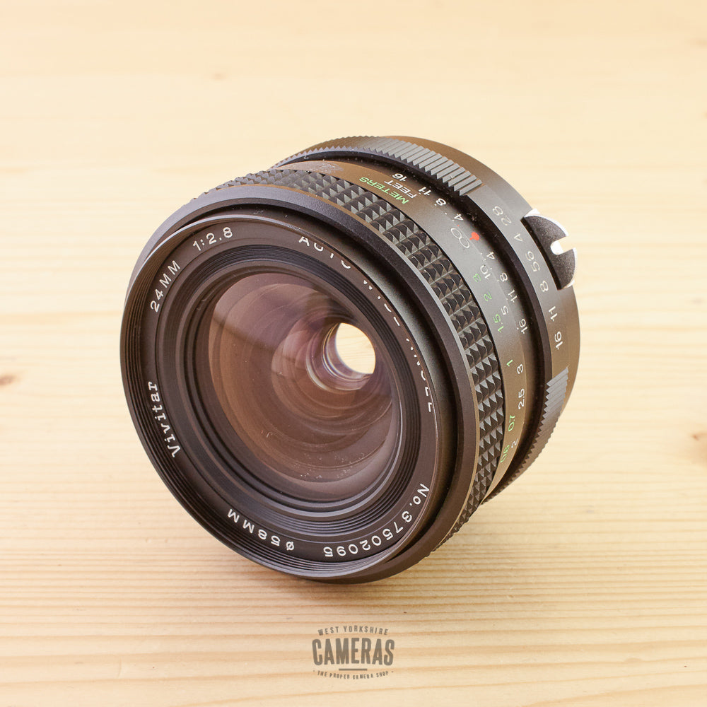Nikon Non-Ai fit Vivitar 24mm f/2.8 Exc