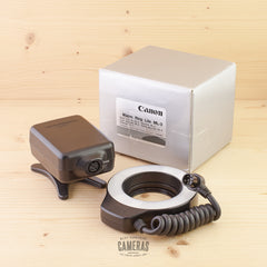 Canon Macro Ring Lite ML-3 Exc Boxed