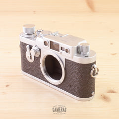 Leica IIIG Body in Case Exc+