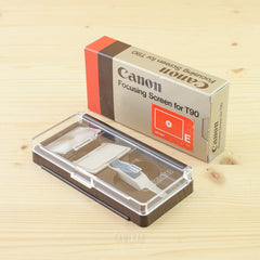 Canon Focusing Screen E for T90 Exc+ Boxed