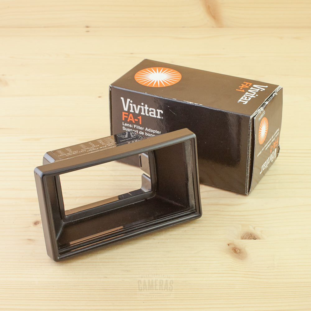 Vivitar FA-1 Filter Adapter Exc Boxed