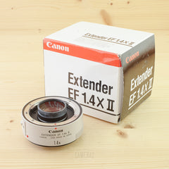 Canon EF Extender 1.4x II Exc+ Boxed - West Yorkshire Cameras