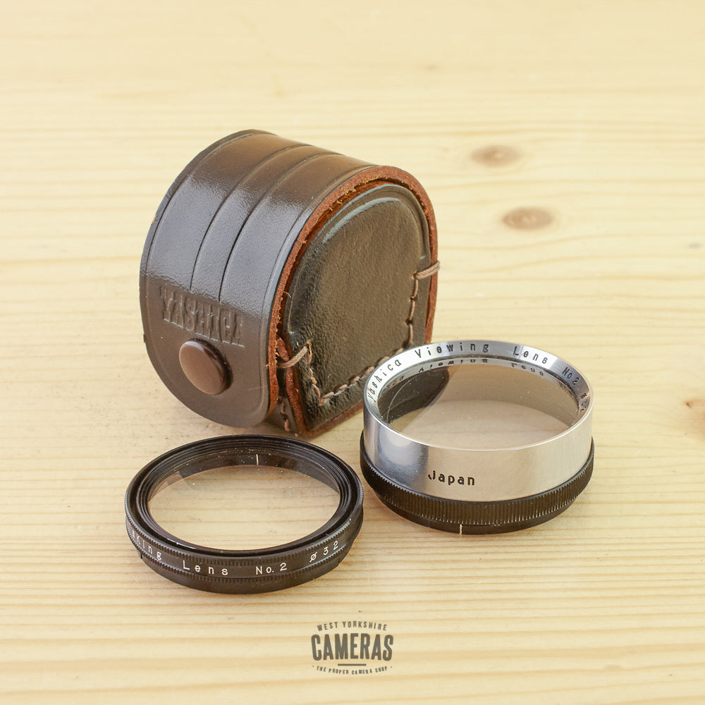 Yashica TLR 32mm Push Fit Close Up Lens No. 2 Exc