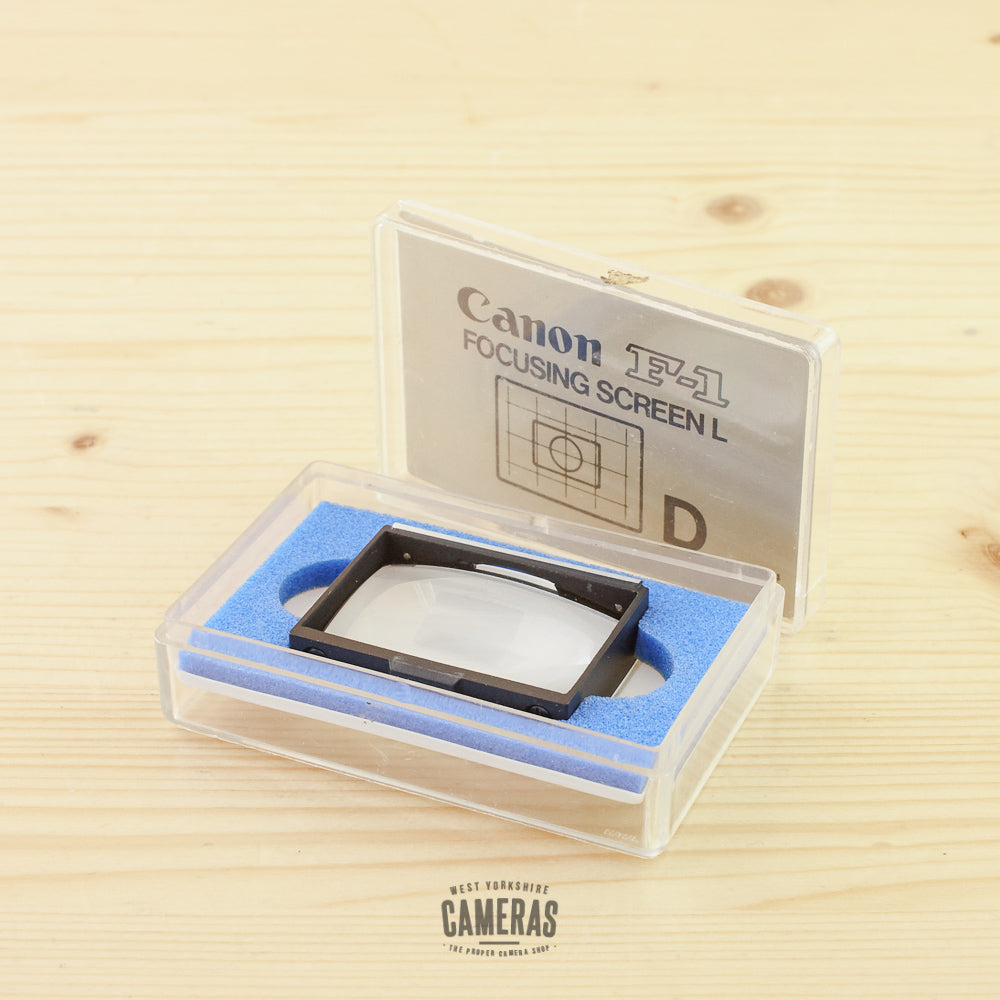 Canon Focusing Screen D for F-1 Exc+