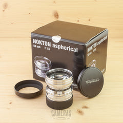 Leica-M Fit Voigtlander 50mm f/1.5 Nokton Aspherical Vintage Mint- Boxed