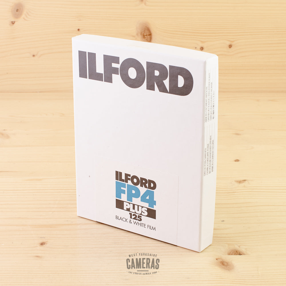 Ilford FP4 125 4x5 25 Sheets