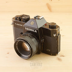 Yashica TL Electro X w/ 50mm f/1.7 Avg