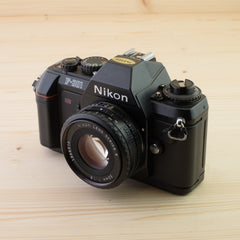 Nikon F-301 w/ 50mm f/1.8 Exc - West Yorkshire Cameras