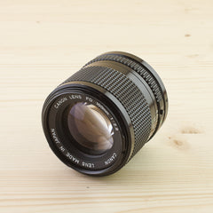 Canon FD 100mm f/2.8 Exc+