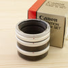 Canon FD Extension Tube M Set Mint- Boxed - West Yorkshire Cameras