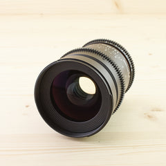 Canon EF Fit Samyang 35mm T1.5 Exc+ - West Yorkshire Cameras