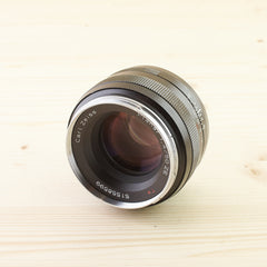 Canon EF Fit Zeiss 50mm f/1.4 Planar ZE Exc - West Yorkshire Cameras