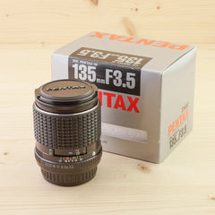Pentax-M 135mm f/3.5 Exc+ Boxed