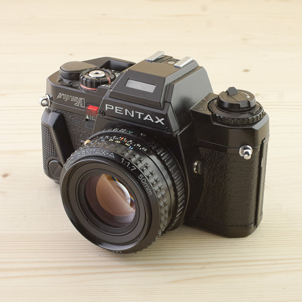 Pentax Program A w/ 50mm f/1.7 Exc+ - West Yorkshire Cameras