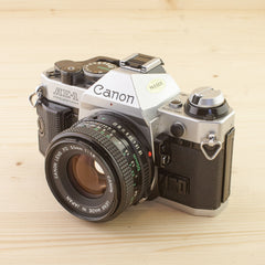 Canon AE-1 Program w/ 50mm f/1.8 Exc - West Yorkshire Cameras
