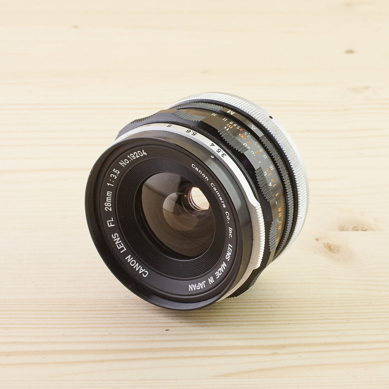 Canon FL 28mm f/3.5 Exc+ - West Yorkshire Cameras