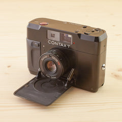 Contax T Black Exc+ Boxed