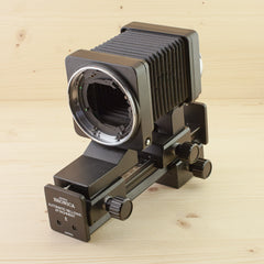 Bronica ETR Automatic Bellows Attachment E Exc Boxed