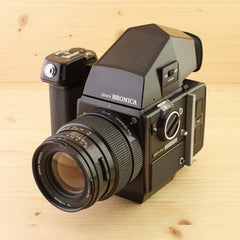 Bronica SQ-AM w/ 150mm f/4 PS and Metered Prism Exc